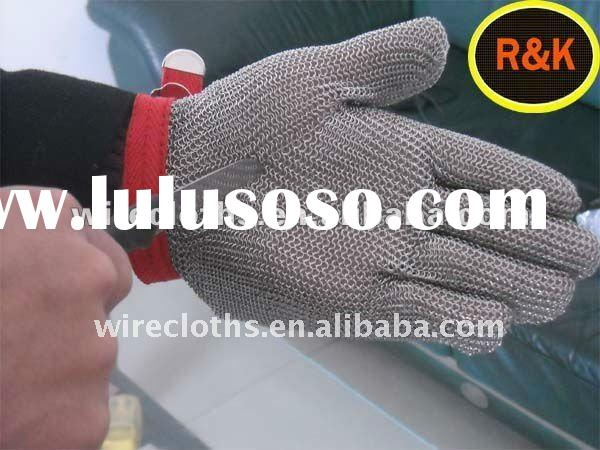 Cut Resistant stainless steel wire mesh glove (Safe Products,High Quality,Competitive Price!)