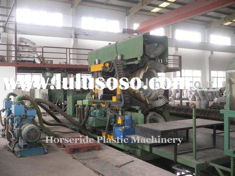 Dia 400-800mm PE Double Wall corrugated pipe extruder