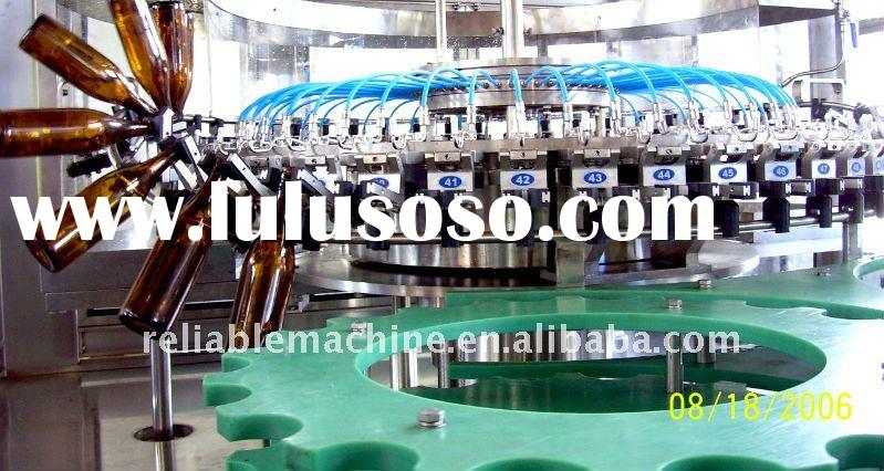 Drink water filling plant for plastic bottle Three In One