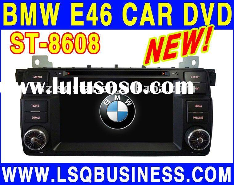 E46 car dvd player with GPS,Bluetooth,IPOD,USB,TV,Radio,Wheel Steering control