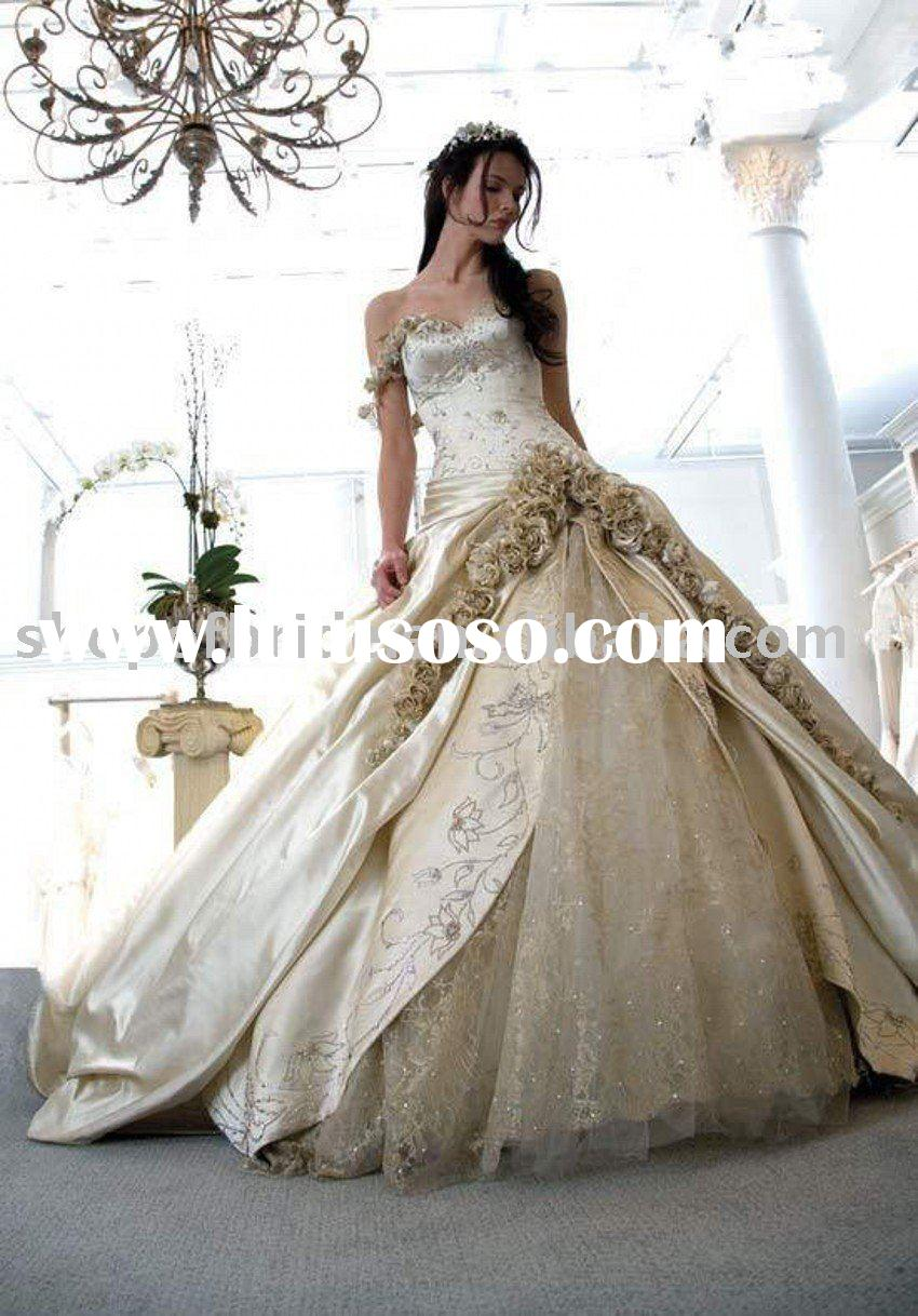 Free shipping!! MSWD2 2010 Hot A-line Sweetheart satin Wedding Gown free one petticoat,one veil and