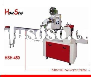Frozen food tray packaging machine