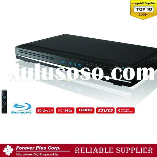 Full HD blue-ray DVD player 1080P with HDMI