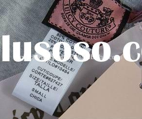 Garment Label,fashion garment series,woven label and hang tag