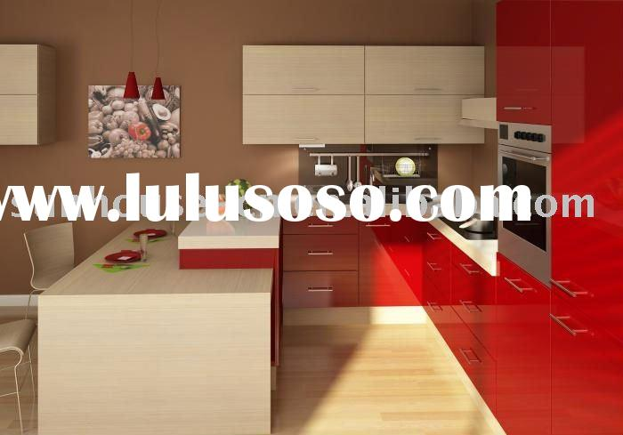 High Gloss Kitchen Cabinet KC9009