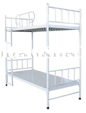 Hospital bed for doctor and nurse on duty (hospital furniture)
