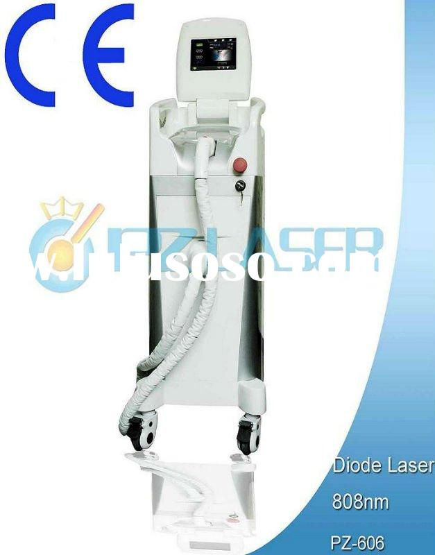 Hot in New Zealand professional diode laser hair removal machine with CE PZ606