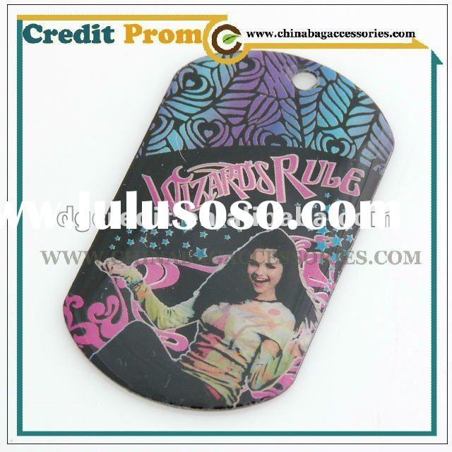 Hot selling High School Music Printing Dog tag with Excellent quality and good price
