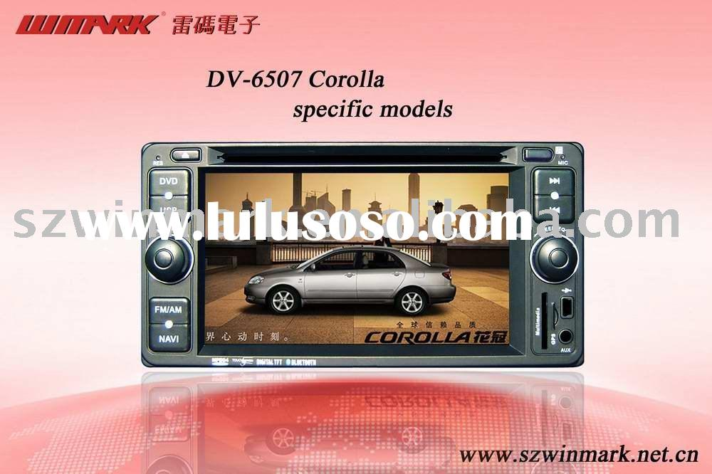 In-dash touch screen Car DVD for old Toyota-Corolla
