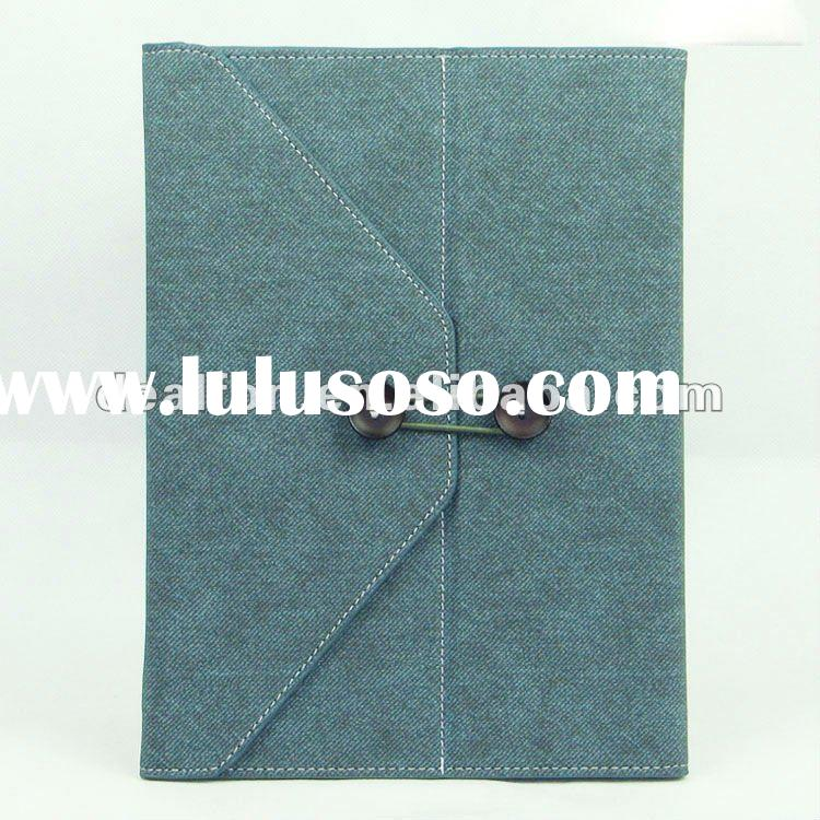 Jeans Cool Style Leather Case Handbag for iPad 2/Handbag for iPad 2,leather case for ipad 2