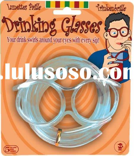 Joke Drinking Straw Glasses Silly Straw Eyeglasses