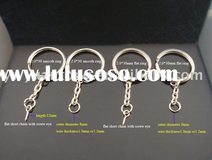 Key Rings with Chains