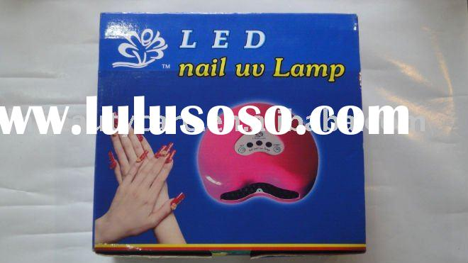 LED 12 watts Nail uv gel curing lamps dryer machine equipment pink heart shaped