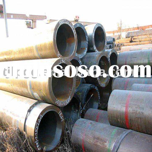 Large diameter alloy steel pipe