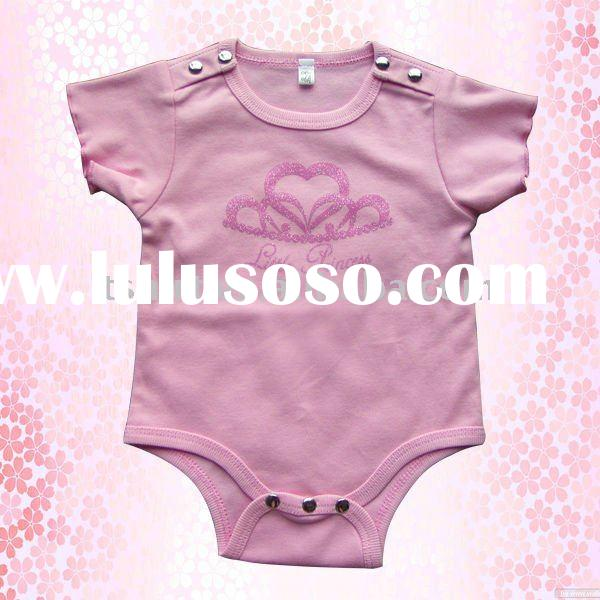Lovely plain adult baby romper clothes suit