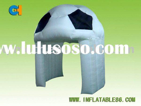 New Style Inflatable Pomotion Football Tent, indoor outdoor tents