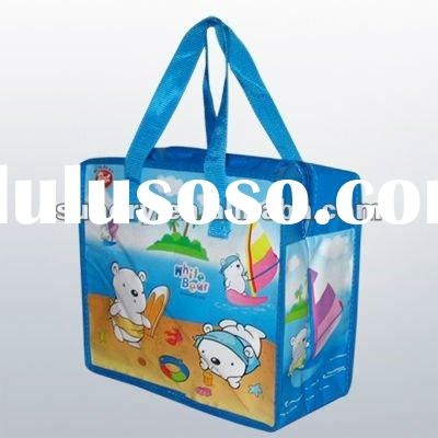 New product 2012 wine bottle bag wine carry bag non woven bag
