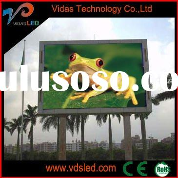 Ph10 outdoor full colour led advertising display billboard signs