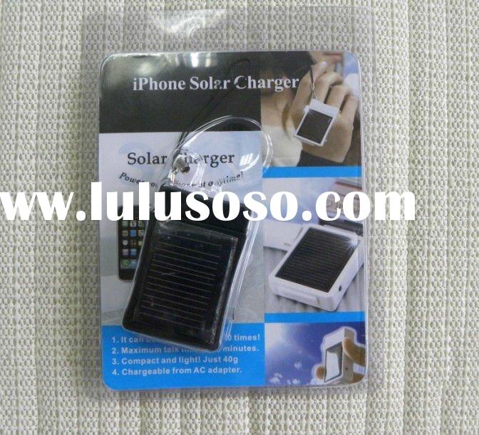 Power Solar Charger for iPhone 4 4G 3G 3GS iPod Nano Touch