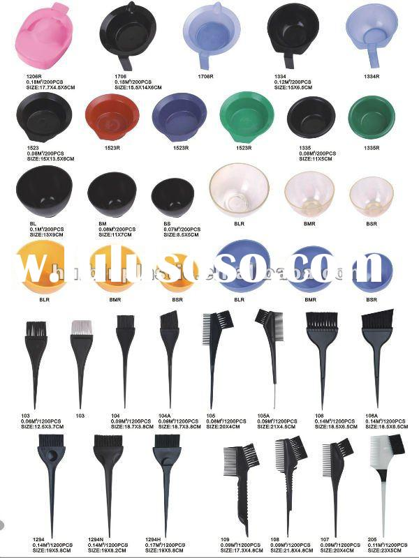 Professional Hair Coloring Tool Set , hair dyeing bowl and brush