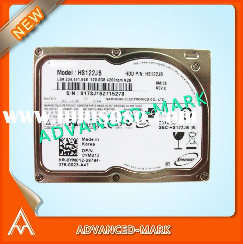 "Replace For Laptop 1.8"" ZIF/PATA 120GB 4200rpm 0YM02 Hard Drive P/N: HS122JB ,All Brand New &am"