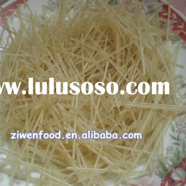 Short instant noodles in bulk package