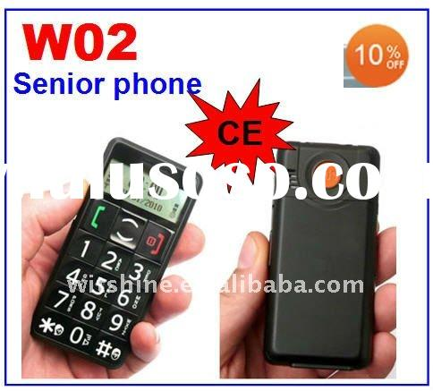 Small Cheap Mobile Phones Senior Citizen Mobile Phone W02 With Big Buttons Cheap Cell Phone