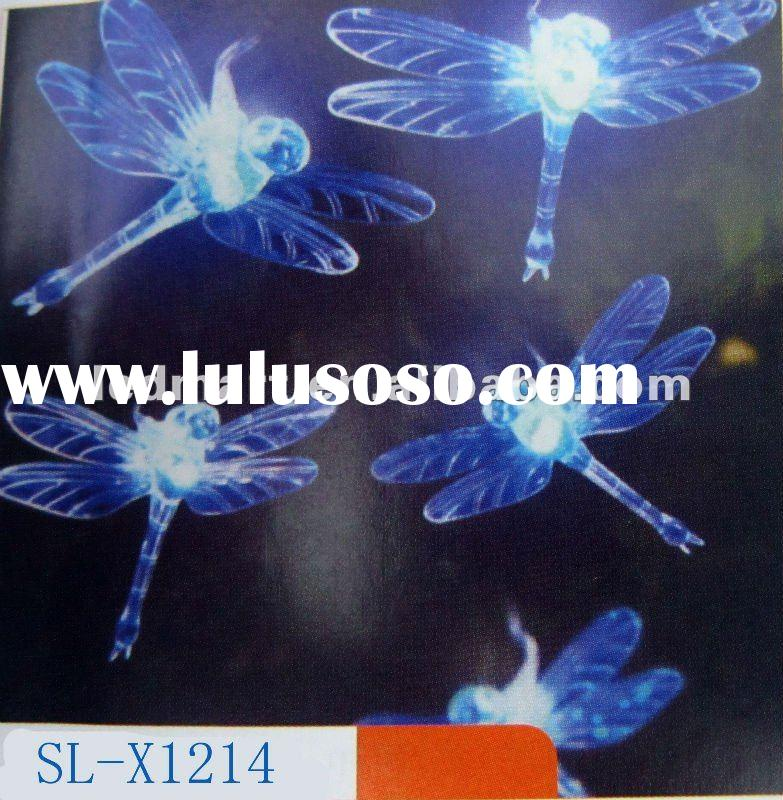 Solar Yard Garden night light Dragonfly string light