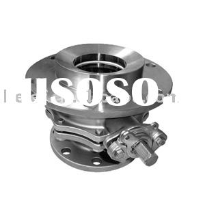 Tank bottom ball valve JIS 10K/ANSI 150# flange end