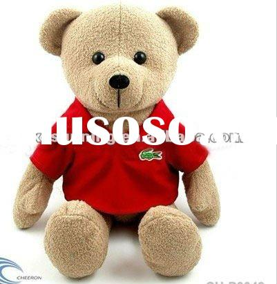 Teddy Bear with T shirt, plush toy,Stuffed toy, animal toy, soft toy, promotion toy