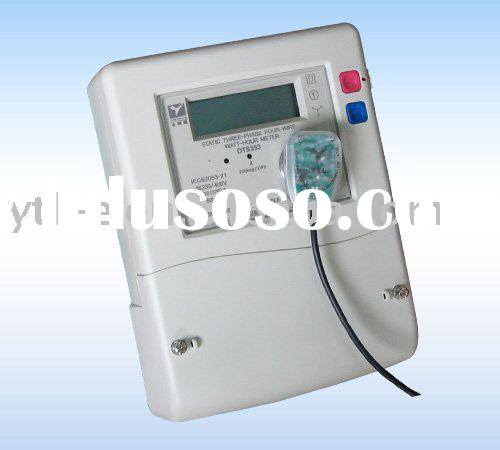 Three phase multi-tariff Smart energy meter