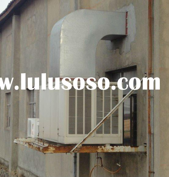 Wall mounted industrial duct type air conditioner
