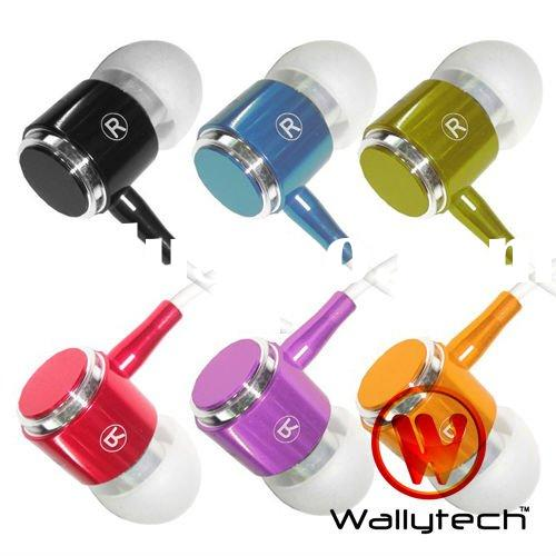 Wallytech For iPhone 4S Earphones High Quality With Mic & Remote WHF-085
