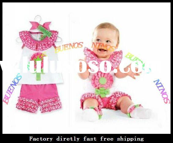 Wholesale New Fashion Cotton Baby Sets Baby Outfits Baby Clothes Set infant Clothes Sets Baby Wears