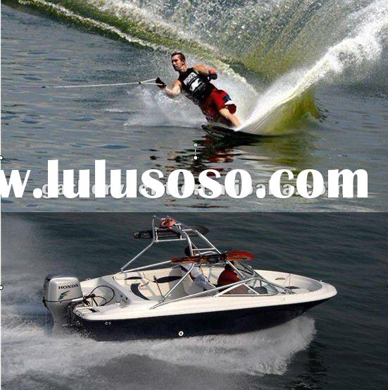 Yamaha Motor boat// 19ft fibrtglass boat ,for water skiing//5m speed boat