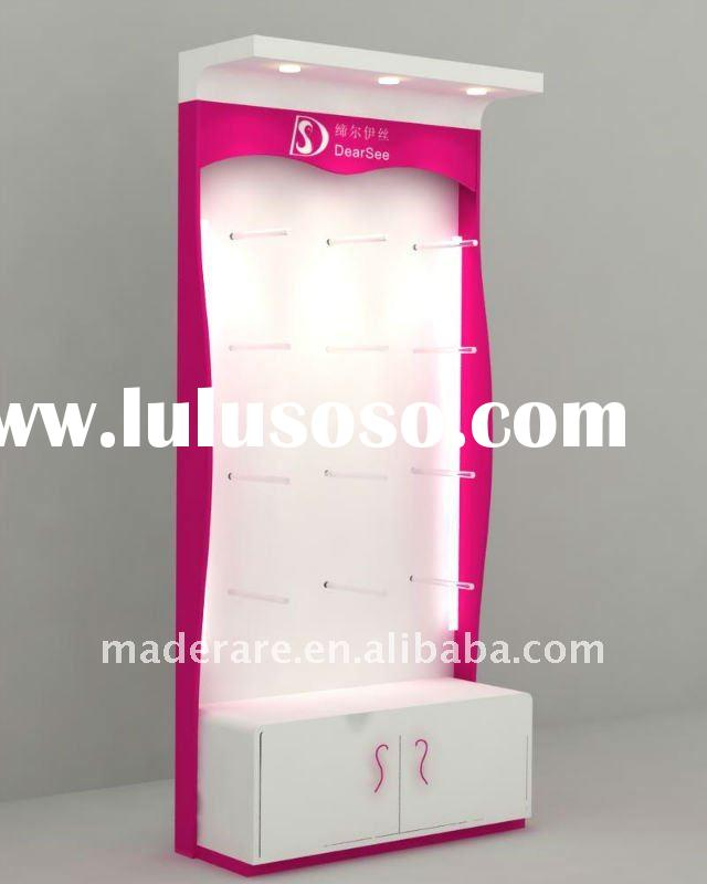 acrylic cosmetic display cabinet,acrylic makeup display