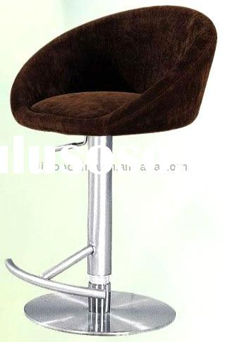 bar stool with stainless steel base