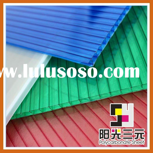 corrugated plastic roofing sheets,polycarbonate hollow sheet