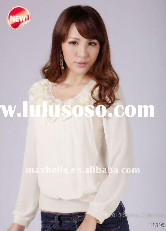 fashion trends long sleeve tops 2012 Spring New Style Retail & wholesale No.11316