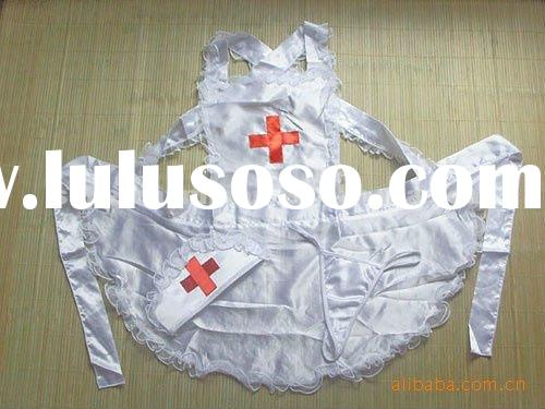 female design nurse white uniform