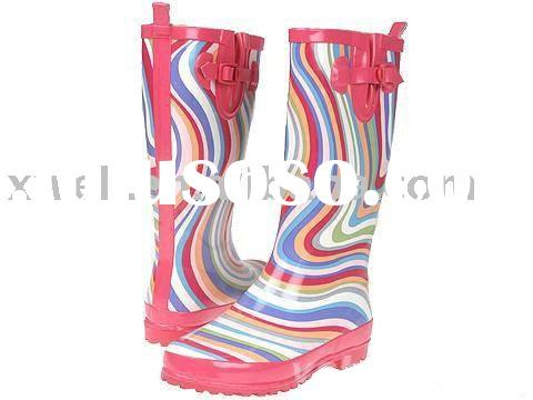 gum boots(kids rain boots,wellington shoes)
