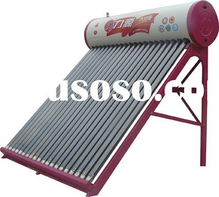 home used compact solar water heater system