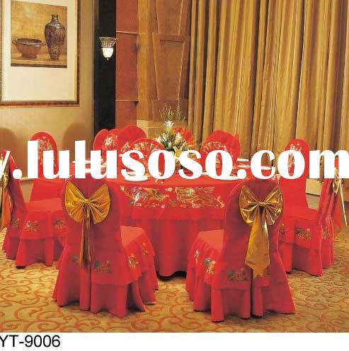 hotel chair, banquet chair&table,dining room chair &chair cover &tablecloth