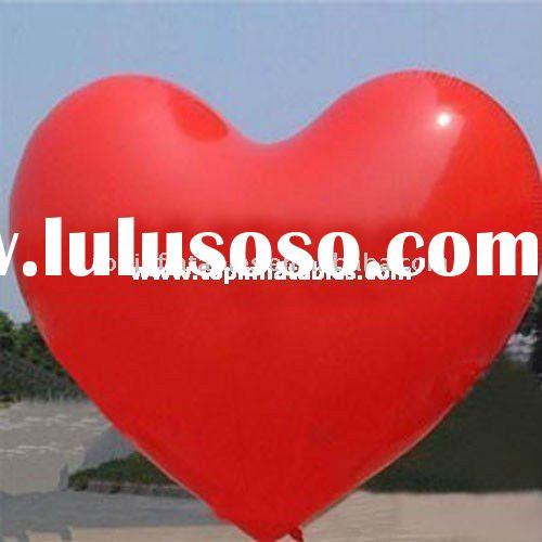 inflatable heart balloon,PVC balloon,helium balloon