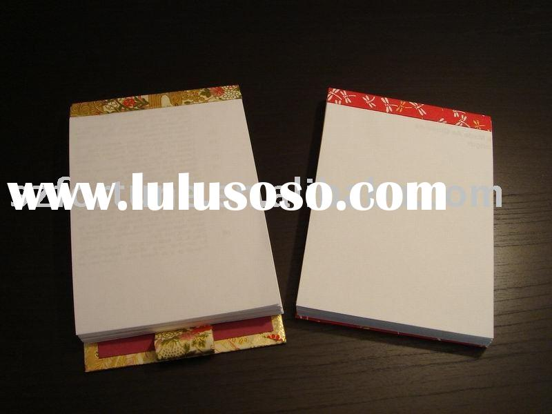 memo pad , note pad with pen holder , sticky note pad ,sticky note ,