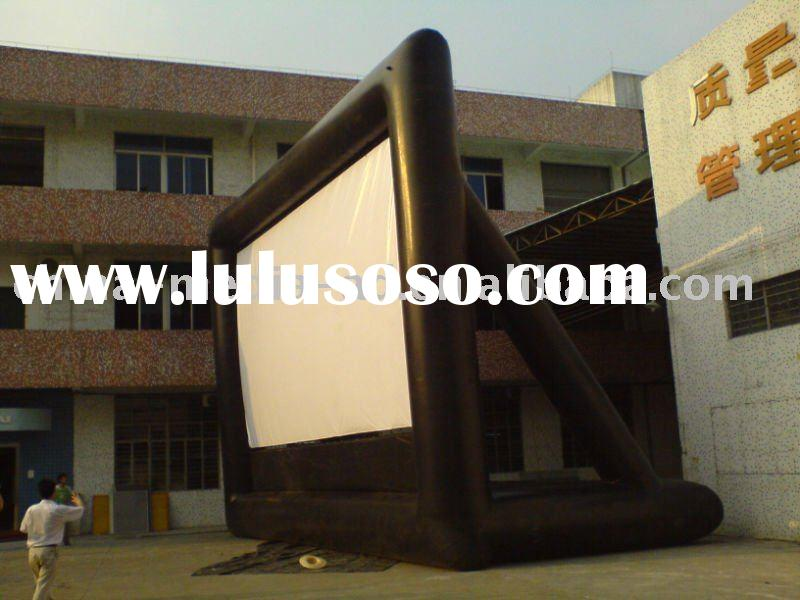 outdoor inflatable movie screen air tight seal movie screen