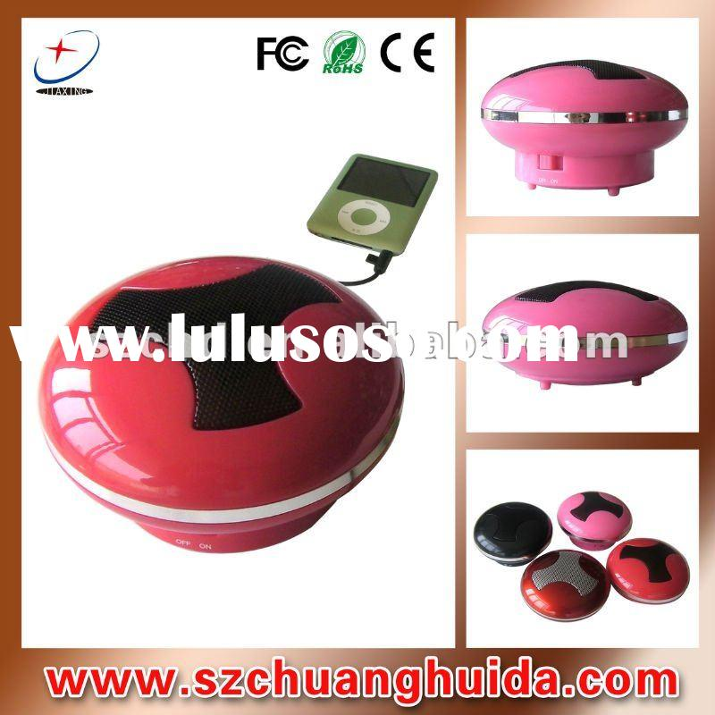 portable mini speaker for moiblephone/mp3 player with 3.5mm jack