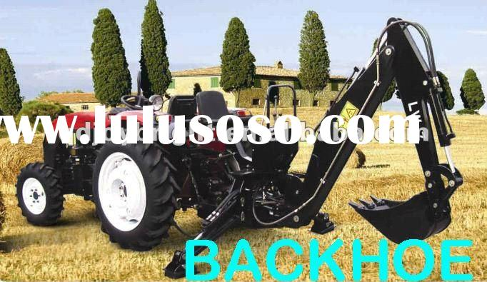 tractor implement BACKHOE,PTO,3PL,SELF-POWER,TOWABLE,Hydraulic transmission,independent Gear pump,3P