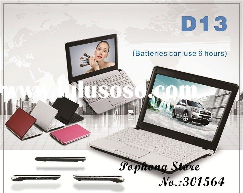 windows 7 cheapest brand new laptops computer 10 inch Intel Dual Core N2600 640G HDD 2G DDR3 Ram WIF