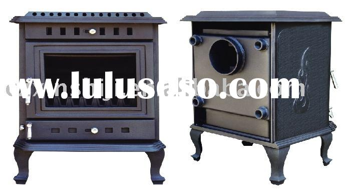 wood burning stove with water boiler TST935LB